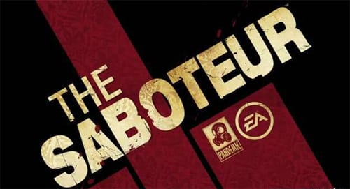Saboteur Save Game