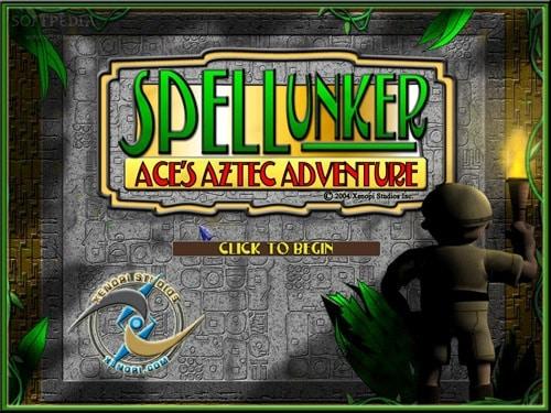 Spellunker Aces Aztec Adventure