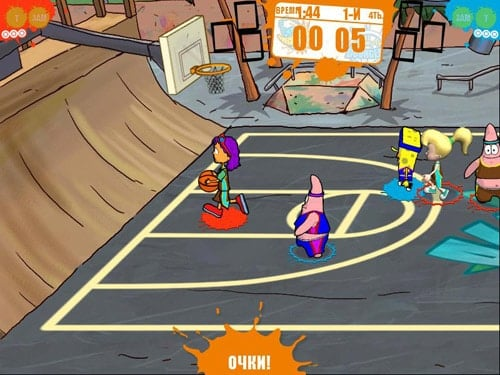 SpongeBob Squarepants and Friends: Basketball