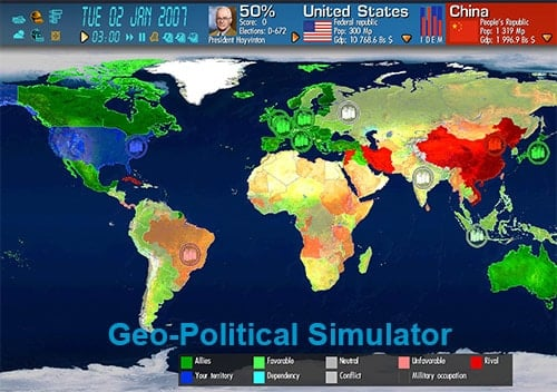 Geo-Political Simulator