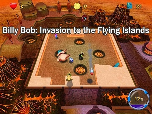 Billy Bob: Invasion to the Flying Islands