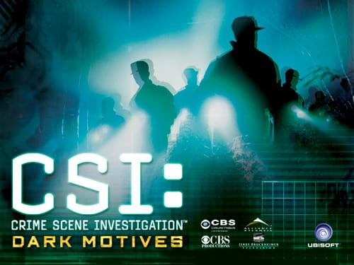 CSI: Crime Scene Investigation Dark Motives