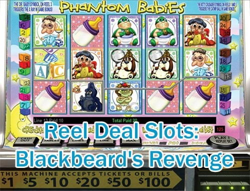Reel Deal Slots: Blackbeard's Revenge