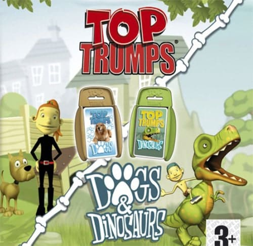 Top Trumps Adventures: Dogs & Dinosaurs